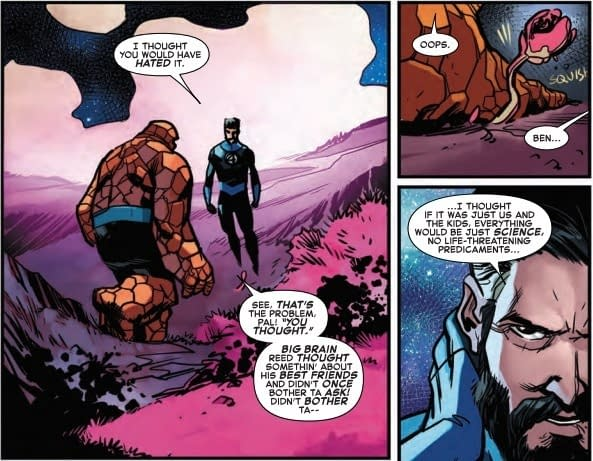 Reed Richards Making Excuses for Ike Perlmutter in Next Week's Marvel Two-in-One #11