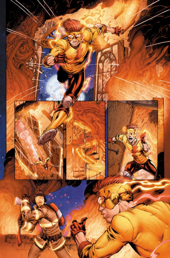 Preview Pages From Teen Titans #1 And #2
