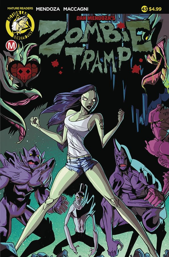 Black Betty Joins Zombie Tramp Universe In Action Lab January 2018 Solicits