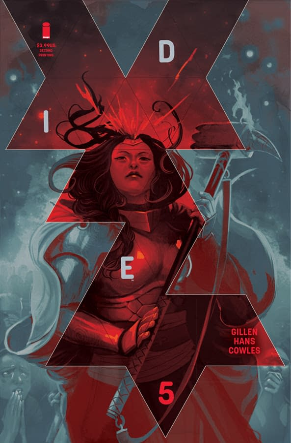 Industry Descends Into Chaos as Kieron Gillen and Stephanie Hans' Die #5 Gets Second Printing