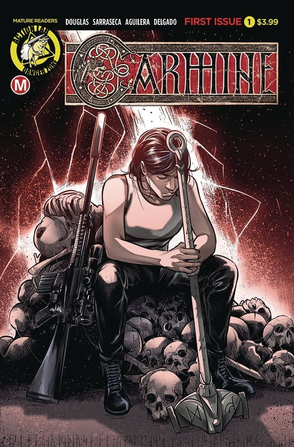 Action Lab Launch Carmine and Miranda In The Maelstrom in September.