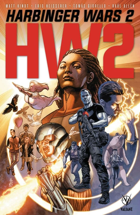 Eric Heisserer, No Longer Writing For Valiant After DMG Buyout, Changes to Harbinger Wars 2