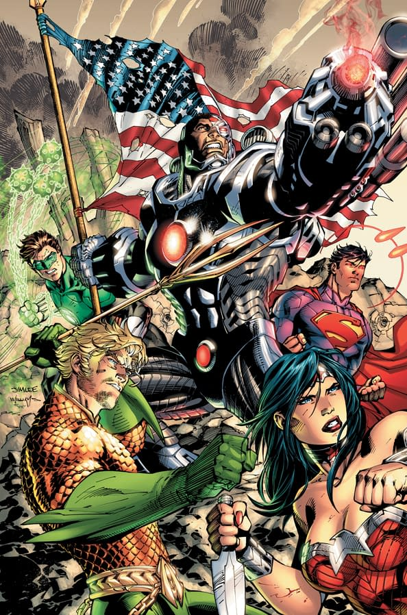 Yes, World, There Will Be A Justice League #5 Next Week. Possibly. [UPDATED – Almost, But Not Quite]