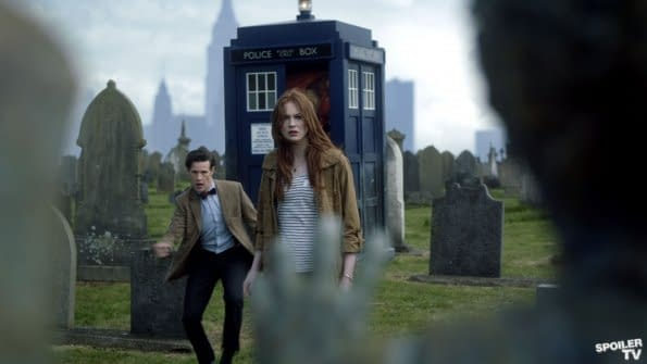 The Angels Take Manhattan – Official Blurb And Piles Of Doctor Who Pictures