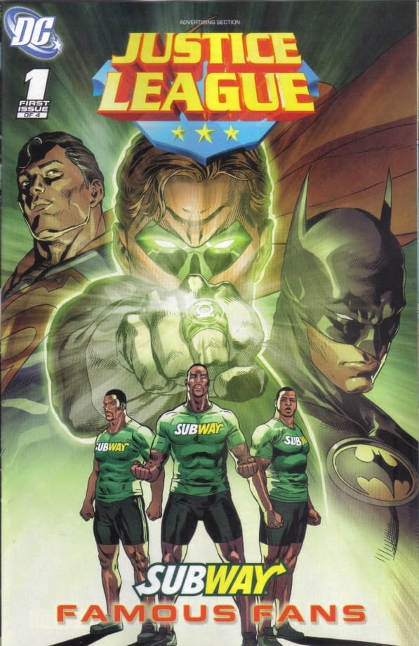 An Even Newer Justice League #1 – The Subway Edition