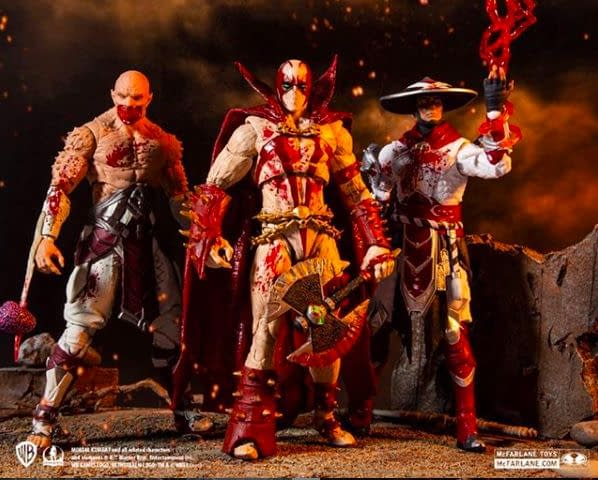 Mortal Kombat McFarlane Toys Figures Get Bloody Varaint