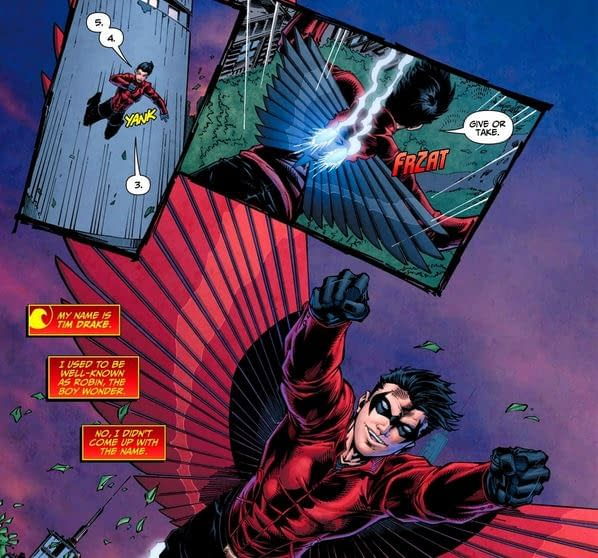Retconning Robin Out Of Teen Titans #1