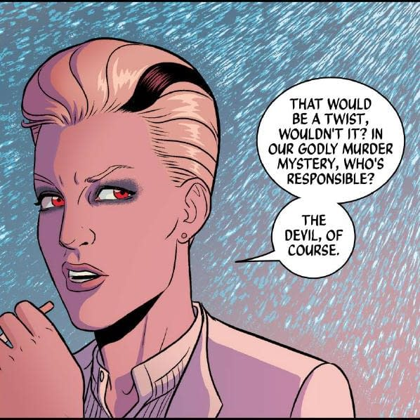 Separated At Birth: Kate McKinnon's Lucifer and The Wicked + The Divine
