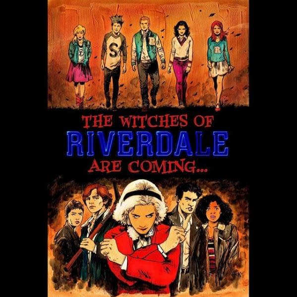 Riverdale/Chilling Adventures of Sabrina crossover would've happened in Part 5 (Image: WBTV/Roberto Aguirre-Sacasa)