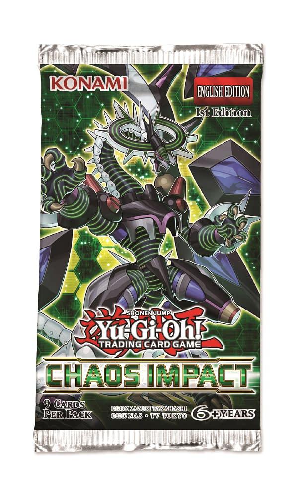 "Konami Announce ""Yu-Gi-Oh!"" TCG's Next Booster Set ""Chaos Impact"""