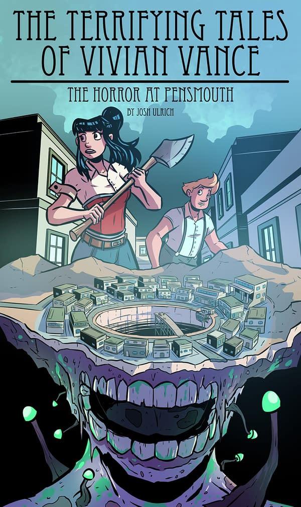 Joshua Ulrich Sells Graphic Novel, Terrifying Tales Of Vivian Vance