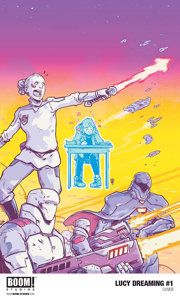 Max Bemis and Michael Dialynas Make Dreams Reality with Lucy Dreaming at BOOM! in March