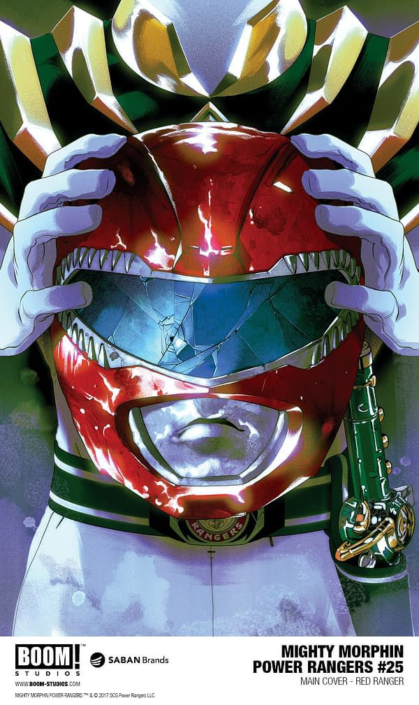 They're Killing Off Power Rangers for the 25th Anniversary in March 2018