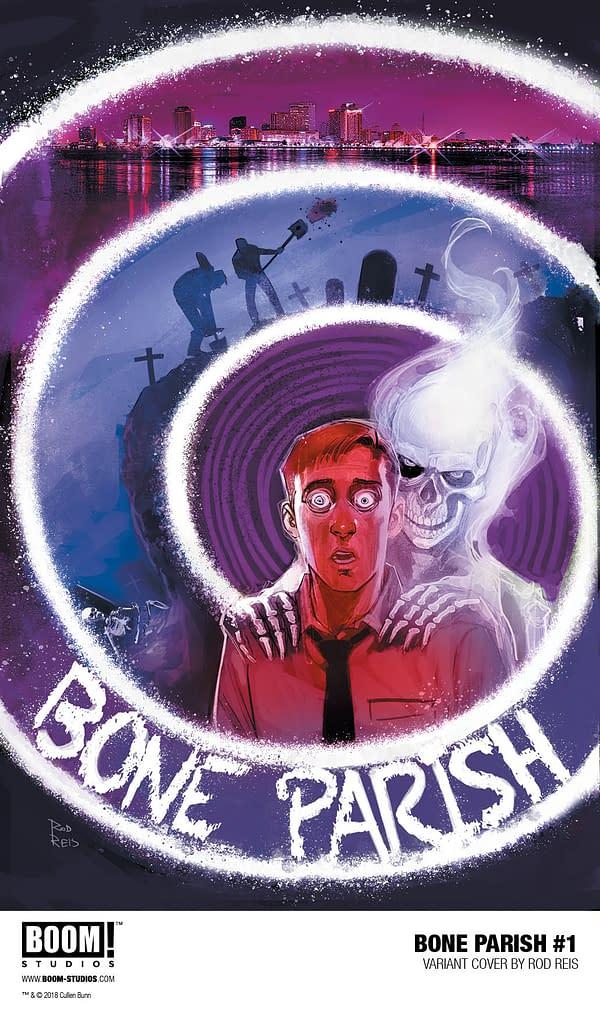 BOOM! Announces Bone Parish, a New Comic by Cullen Bunn, Şerif and Mustafa Karasu