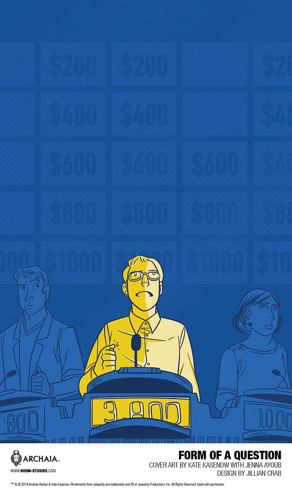 Because U Demanded It: BOOM! to Publish Graphic Memoir About Game Show 'Jeopardy'