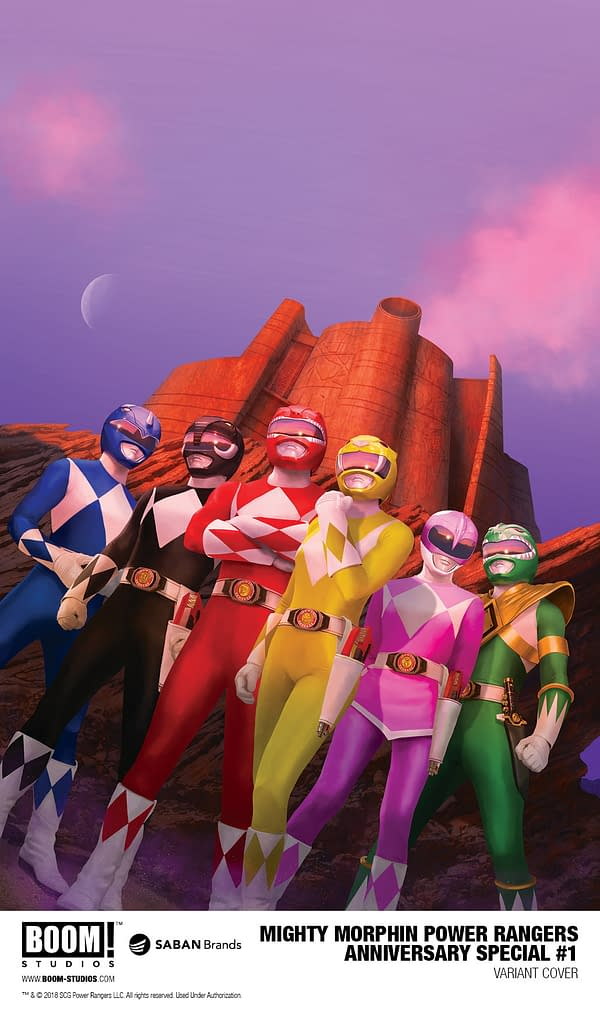 Power Rangers 25th Anniversary Special