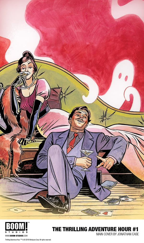 The Thrilling Adventure Hour Comes to BOOM! Studios for New Comic Book Series