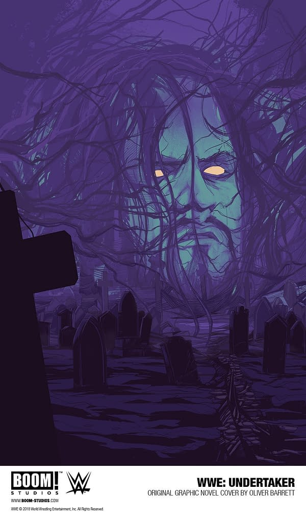 The Undertaker Returns to Comics with New BOOM! Studios Graphic Novel by Chad Dundas and Rodrigo Lorenzo