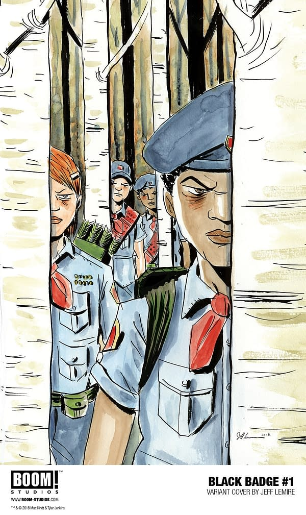 Boy Scouts Go Black Ops in Matt Kindt and Tyler Jenkins' Black Badge