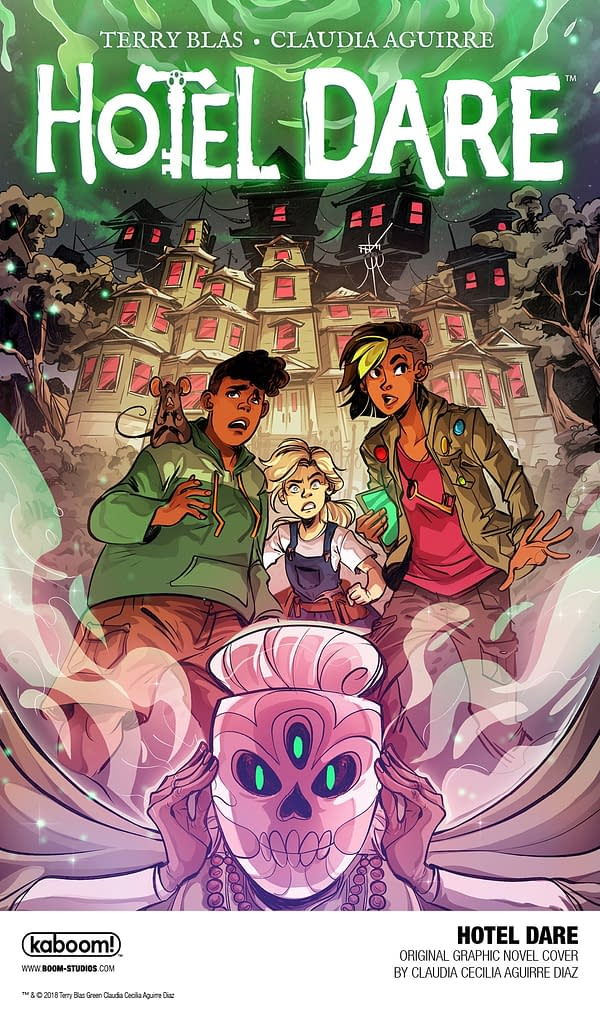 Terry Blas and Claudia Aguirre's Hotel Dare Brings Magical All-Ages Amenities to BOOM! in 2019