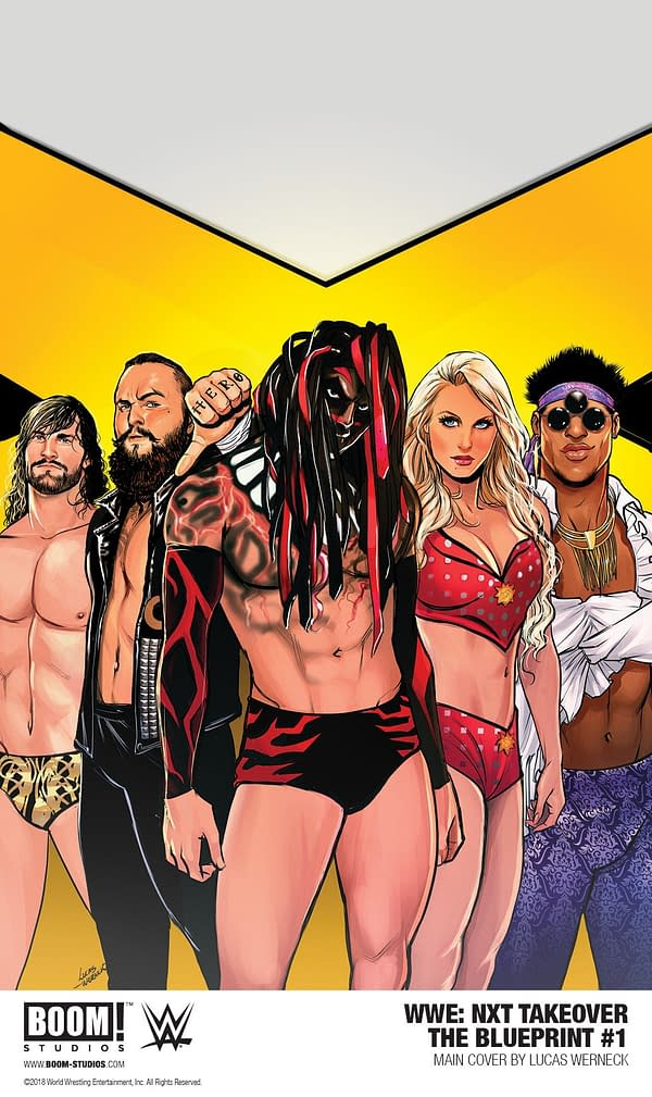 BOOM! and WWE Plan NXT Takeover Weekly Event Comic for September