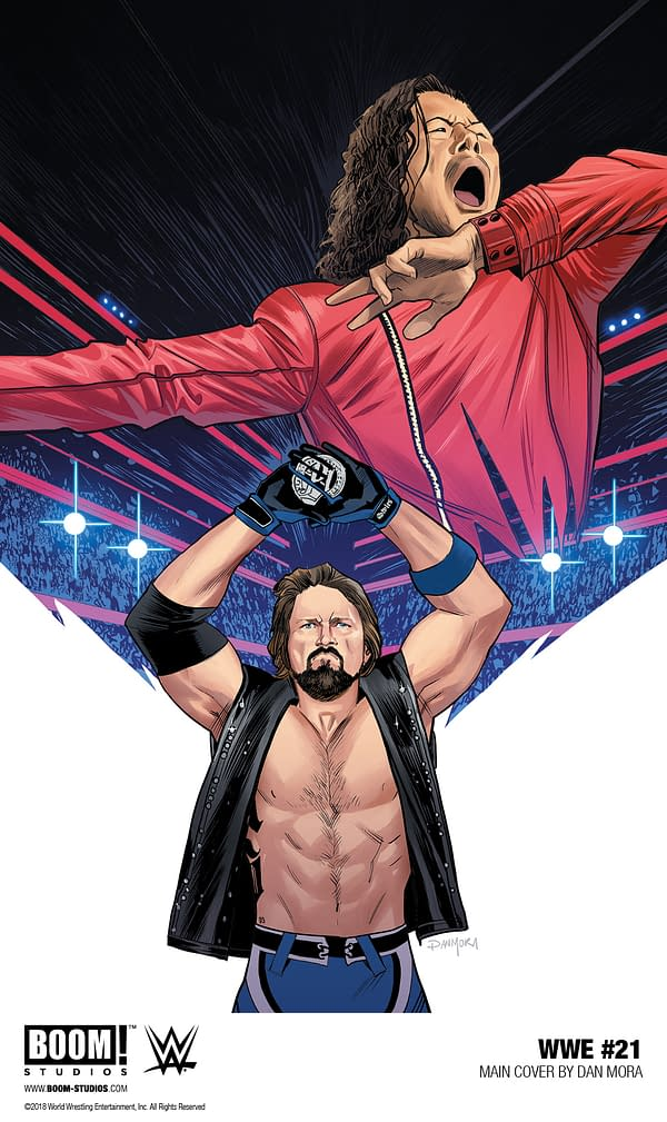 AJ Styles Main Events the WWE Comic Book in October, Which is Better Than Nothing