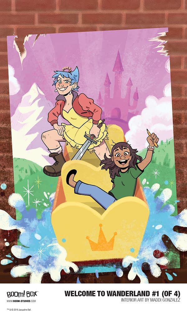 First Look at Welcome to Wanderland #1 by Jackie Ball and Maddi Gonzalez