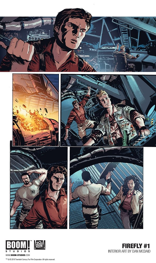 Firebronies: Gaze Upon Your First Look at Greg Pak and Dan McDaid's Firefly #1