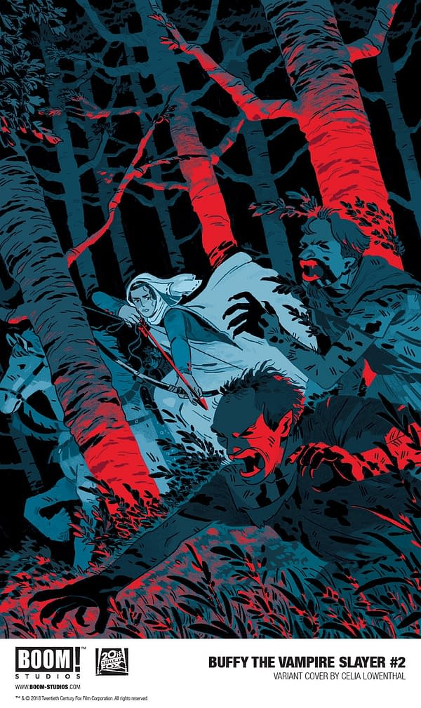 BOOM! Reveals a Celia Lowenthal Variant for Buffy the Vampire Slayer #2