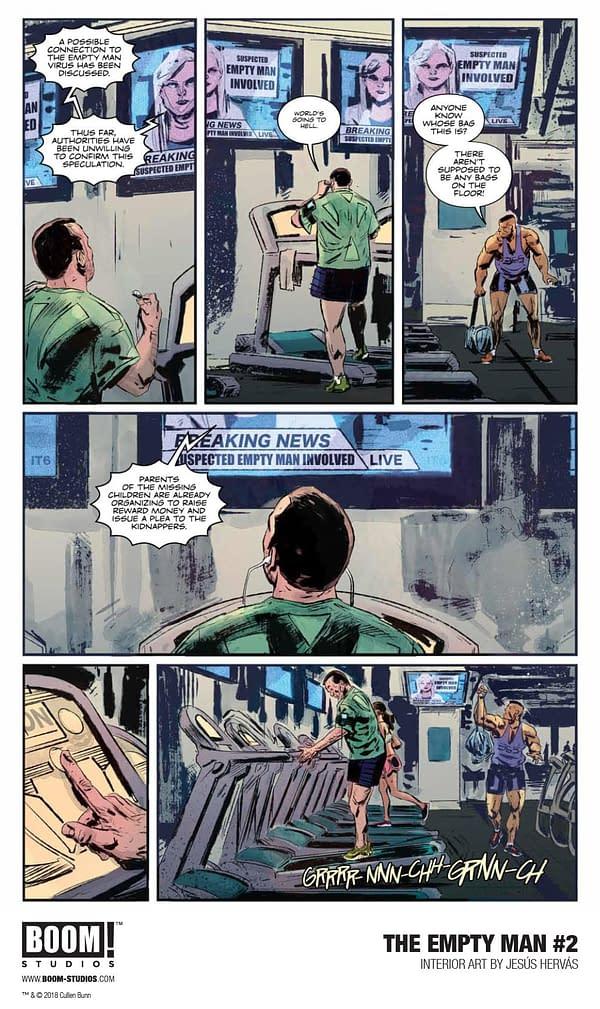 First Look at Cullen Bunn and Jesús Hervás' Empty Man #2