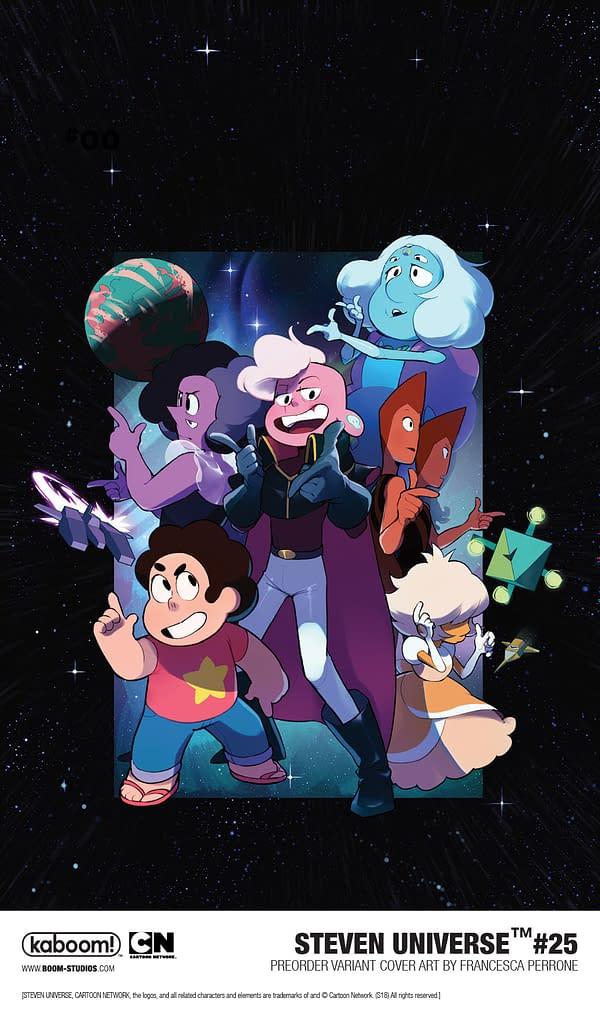 """Captain Lars Stars in """"Epic, Mind-Bending Adventure"""" for February's Steven Universe #25"""