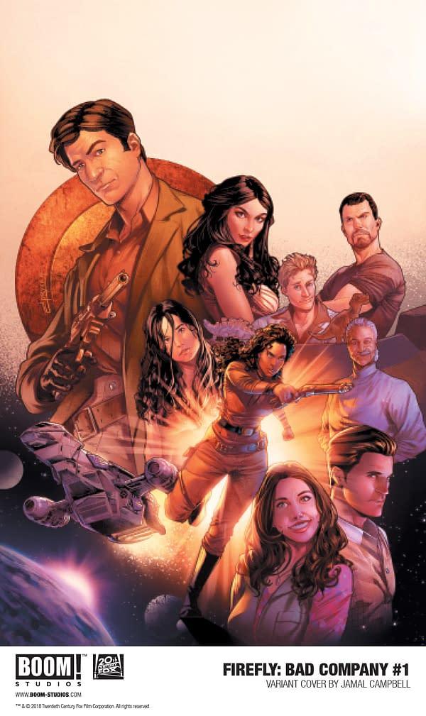 Josh Lee Gordon and Francesco Mortarino Reveal the Secret Origin of Saffron in Firefly: Bad Company