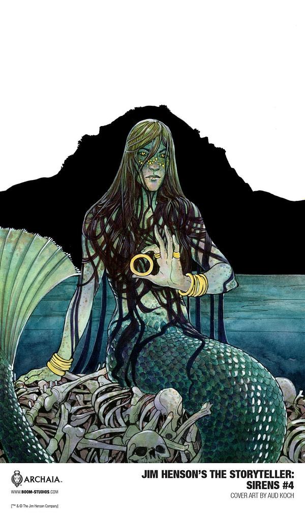 Jim Henson's The Storyteller Dives Into Mermaids for New Sirens Mini