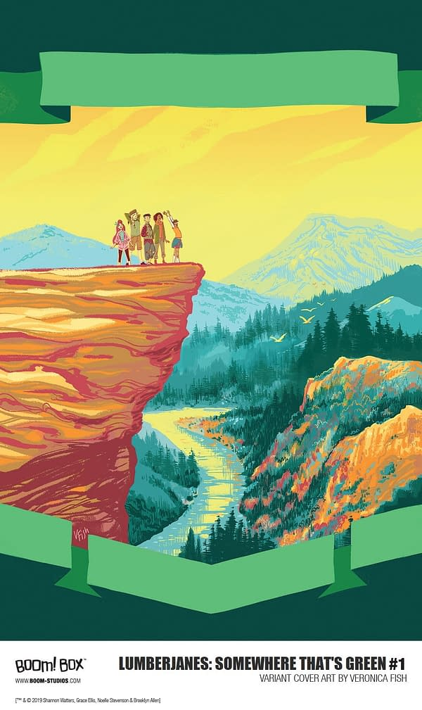 Seanan McGuire and Alexa Bosy Take the Lumberjanes Somewhere That's Green in May