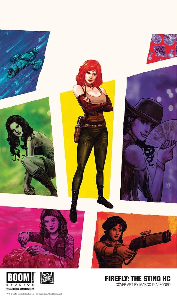 Saffron Returns for Firefly: The Sting OGN That's the Opposite of Marvel #1000