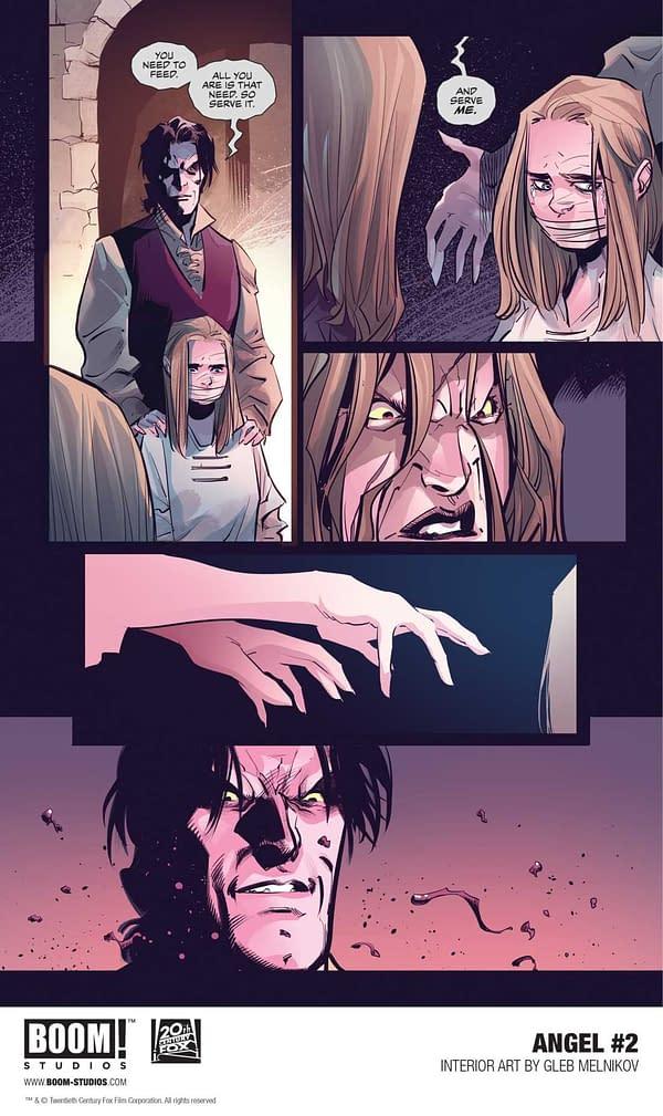 Three Ways Angel #2 Sets Up The Big Buffy Vs. Angel Event (Spoilers)