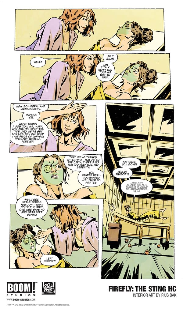First Look at the Women of Firefly: The Sting Original Graphic Novel