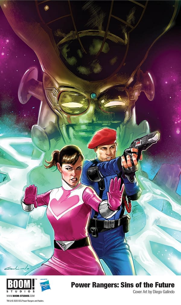 New Power Rangers OGN Explores Aftermath of Time Force TV Series