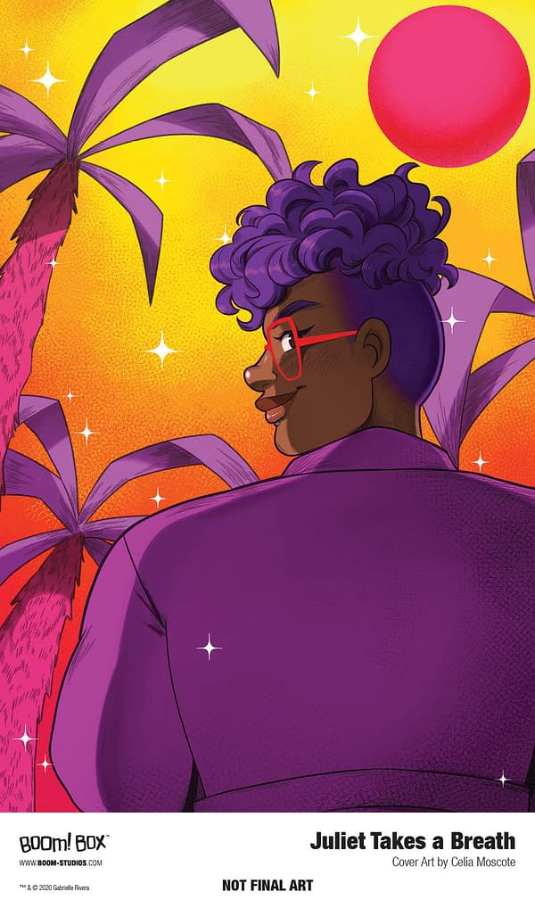 Gabby Rivera Adapts Her Novel Juliet Takes a Breath as a Comic with Celia Moscote at BOOM!