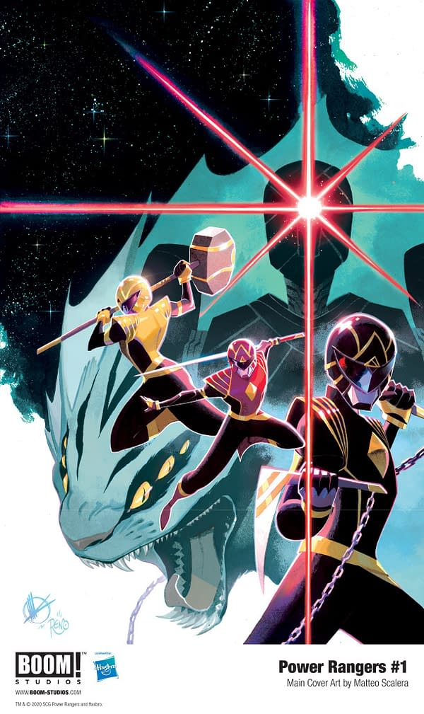 Power Rangers SDCC Panel Promises An Exciting Future