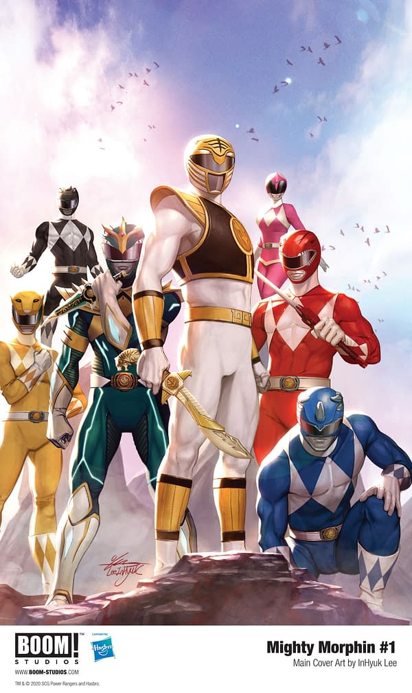 Mighty Morphin #1 cover. Credit: BOOM! Studios.
