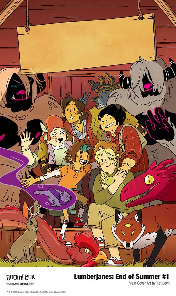 Lumberjanes Comes To An End In December 2020