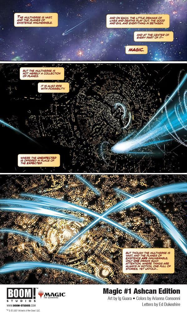 Boom to Sneak-Publish Magic: The Gathering Ashcan Comic This Week