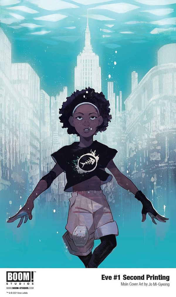 TOLDJA: Eve #1 Sells Out Ahead of Issue #2 FOC