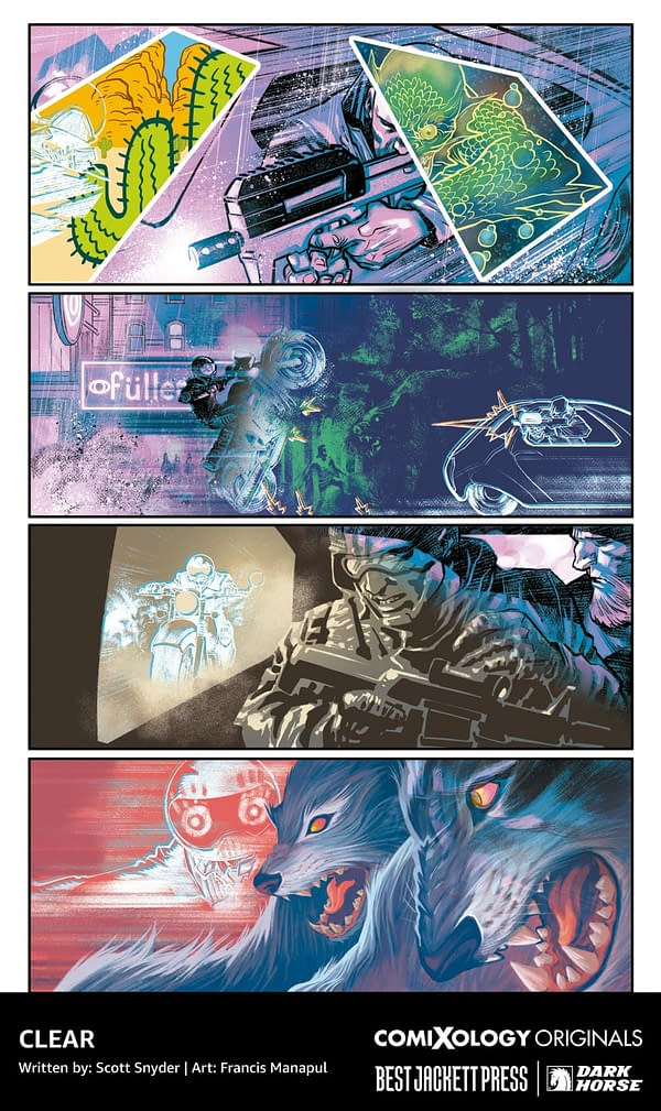 Scott Snyder Launches New Creator-Owned Line Through ComiXology
