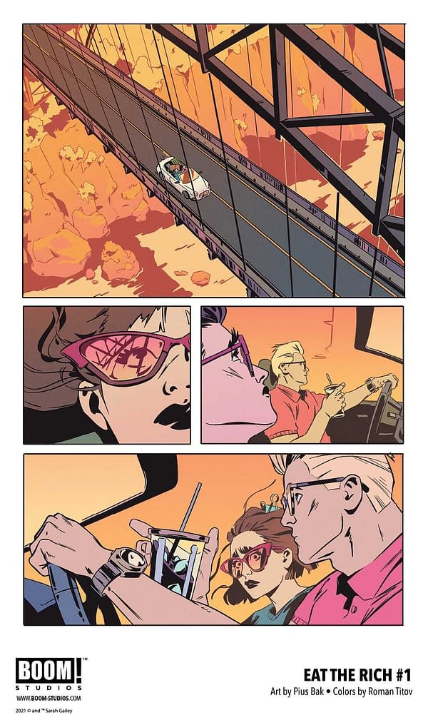 Eat The Rich #1 To Debut In Boom's 50K Club, No Longer Returnable