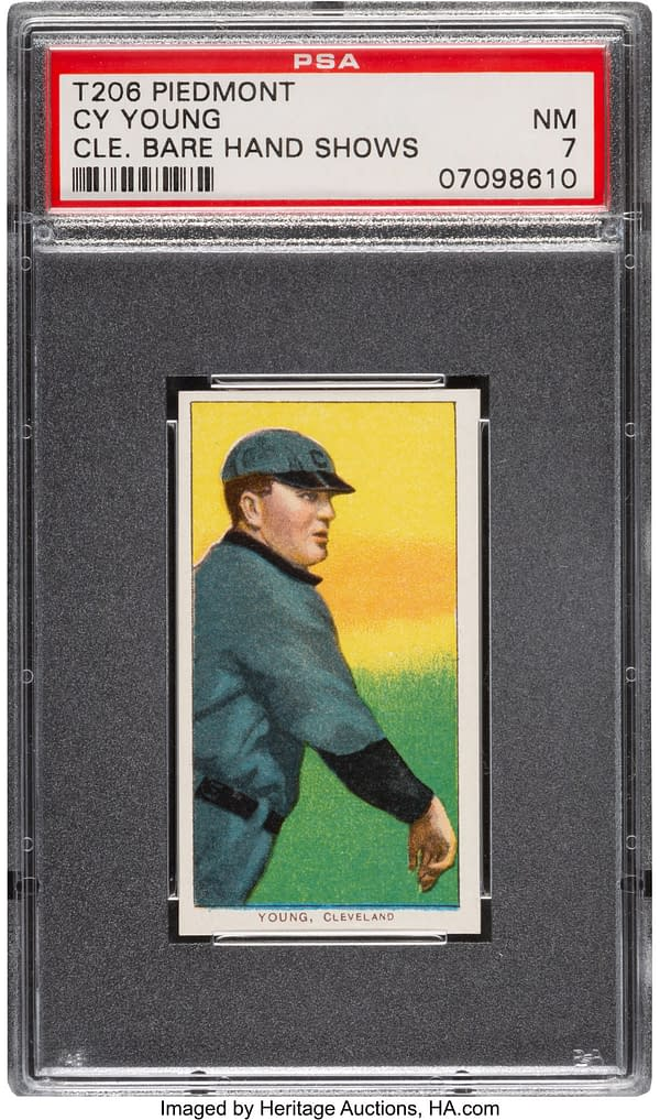 Check Out This Rare Cy Young Baseball Card On Auction At