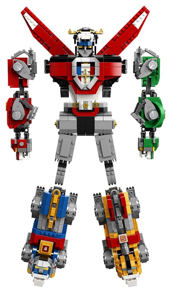LEGO Ideas Voltron Set 2