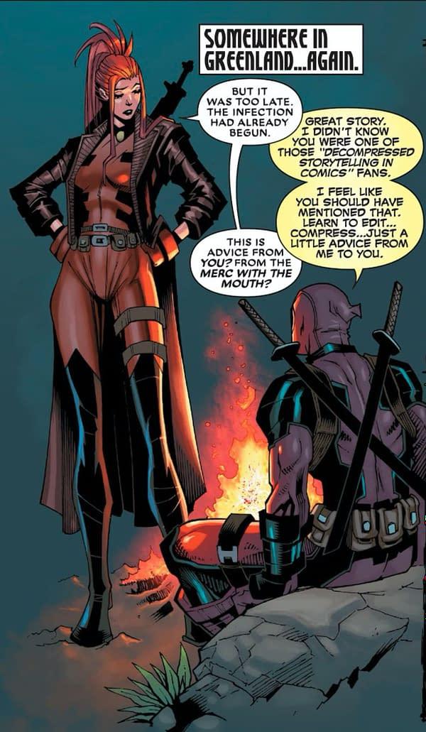 Deadpool #7 – Deadpool Explains Why he Hates Marvel Comics [XH]