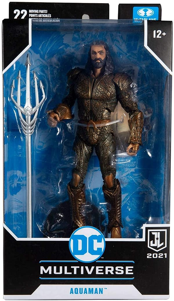 Justice League Flash and Aquaman Arrive From McFarlane Toys